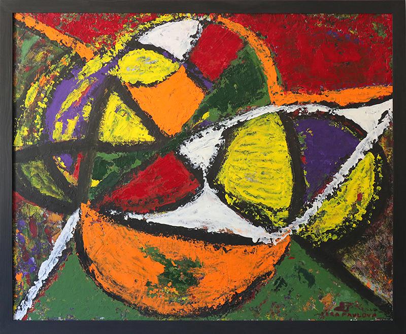 Abstract Oil Painting 70Х85 №7