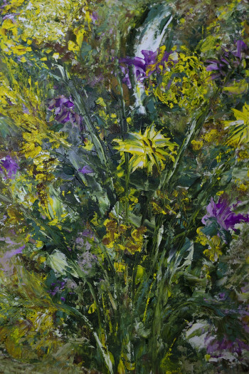 SOLD. Field flowers 35*45 oil.Private Collection (Scotland)