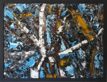 SOLD  Abstract Oil Painting 60Х80n №13