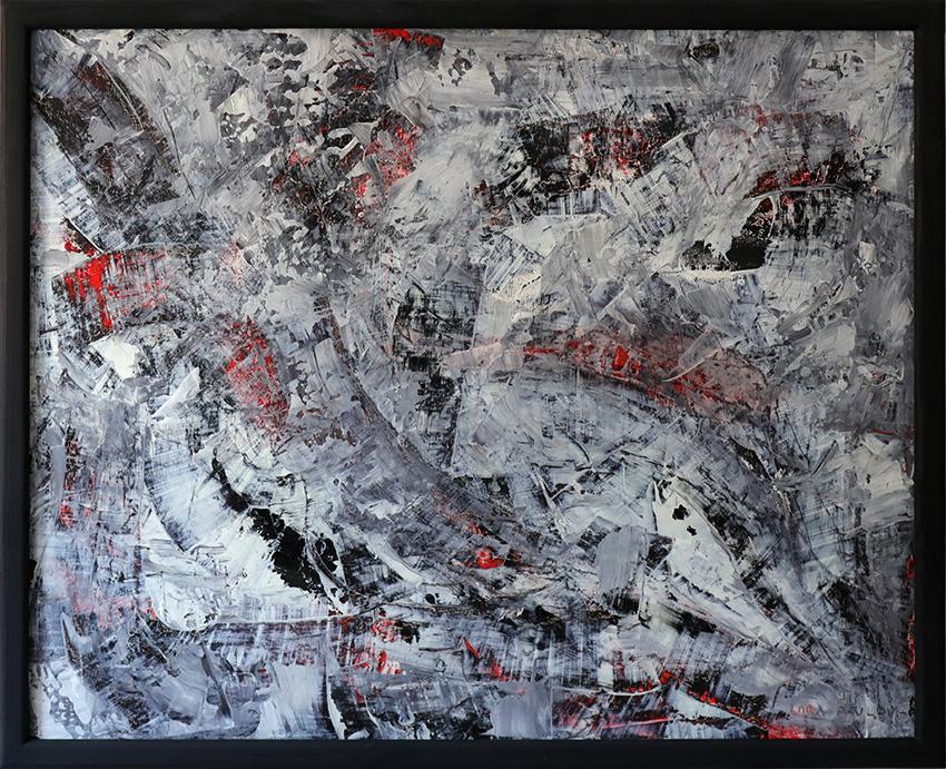 Abstract Wall Art Original. SOLD