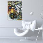 Картины настенные купить в раме размер 60Х80 Картина масло 2020-I-14. В наличии