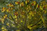 Картина маслом на холсте цветы Бархатцы. Частная коллекция (Беларусь)