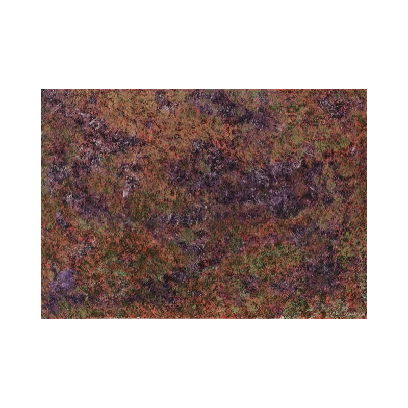 Картина маслом в раме абстрактный пейзаж III-38