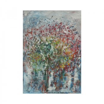 Abstract painting by Lora Pavlova III-41