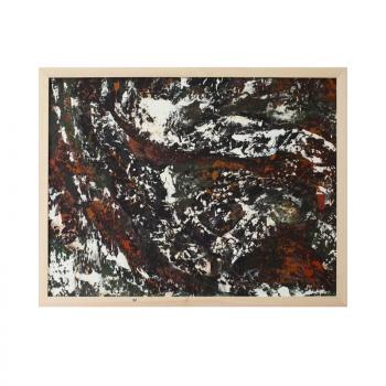 Картины абстракционизм для интерьера маслом в раме купить у художника 2019-III-9. Продается