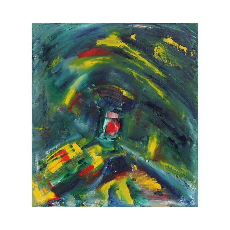 ПРОДАНА Картина маслом холст на подрамнике 40Х50 III-49