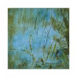 Абстрактная картина на холсте, Минск. Частная коллекция (Финляндия).