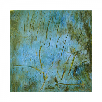 SOLD Abstract painting on canvas 30*30 by Lora Pavlova III-56