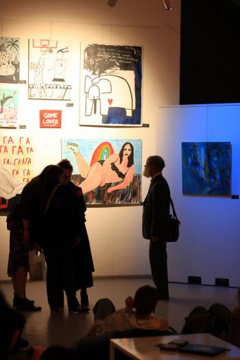 «Пока никто не видит», Ночь музеев 2021, Дворец искусств, Минск.