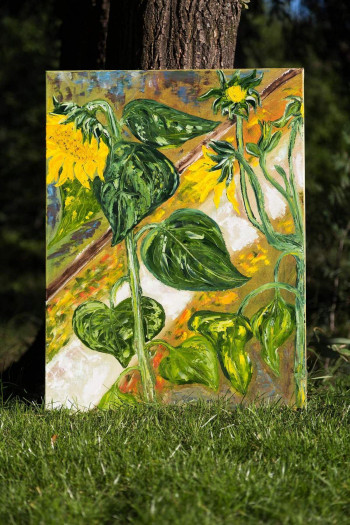 SOLD. Sunflowers