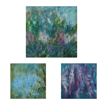 SOLD Set of 3 wall art