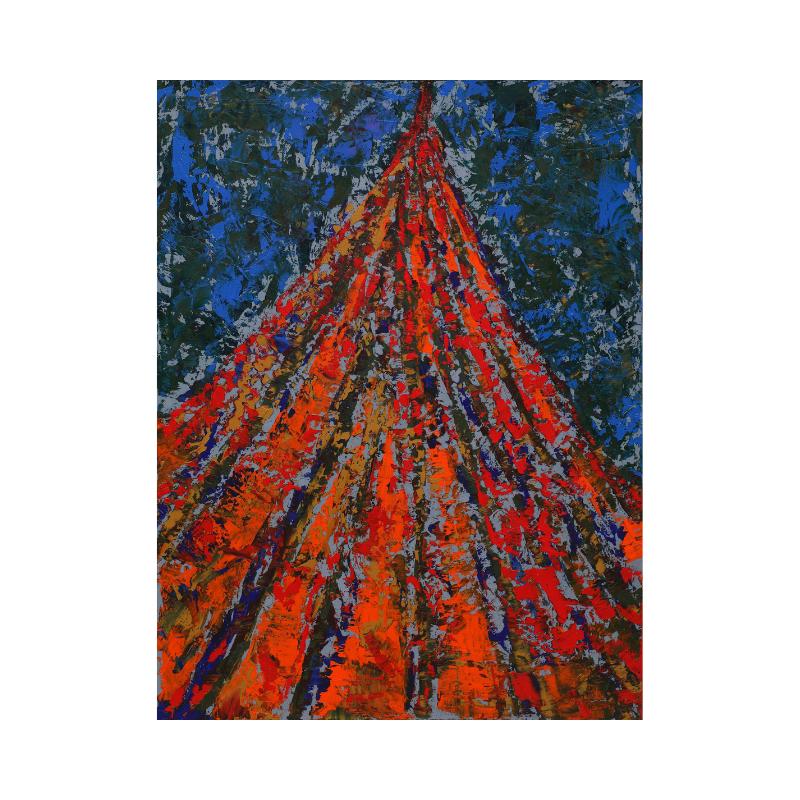 Abstract art Lora Pavlova III-43