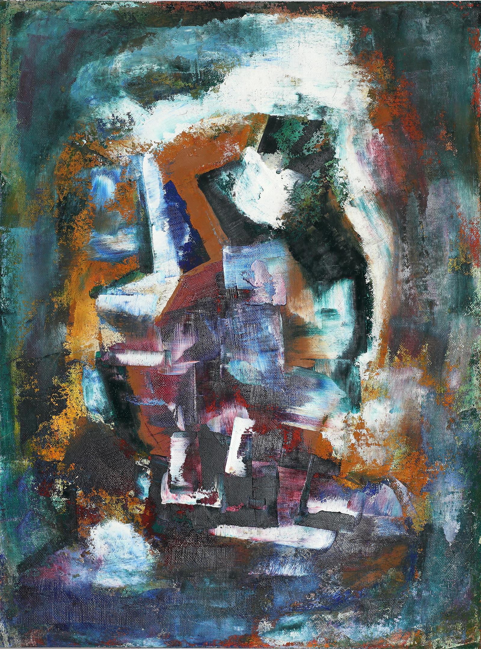 2020-I-13 Картина маслом абстракция в ваш дом
