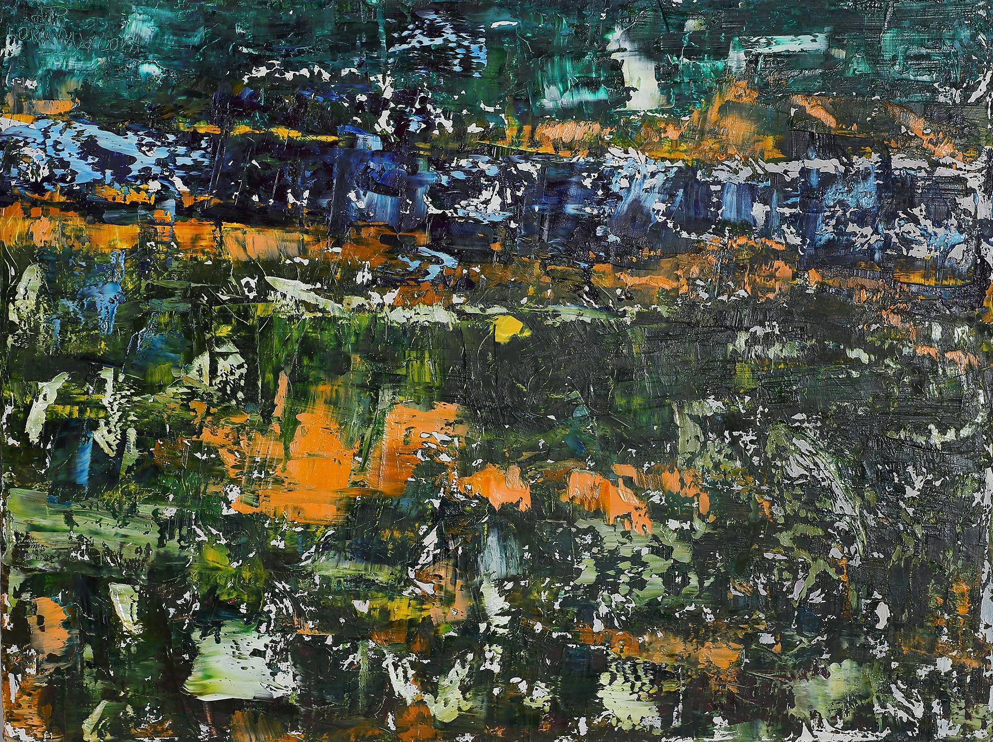 2020-I-15 Купить картину маслом Современное искусство Абстрактная картина маслом